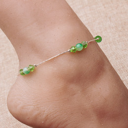Wholesale Post Sexy - 2016 New Sexy Exclusive Anklets Chain Foot Bracelet Silver Plated 10 Piece Per Lot Free Shipping By China Post