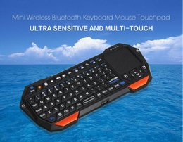 Wholesale Mini Desktop Windows - 2016 Hot Remote Desktop Mode Version Wireless Bluetooth Teclado Gamer For IOS Android Laptop Tablet Windows for Gaming Keyboard