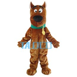 Wholesale Scooby Doo Mascot Costumes - Scooby Doo Mascot Costumes Snoopy Dog Chirstmas Halloween Fancy Dress Adult Size Free Shipping