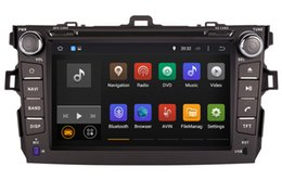 Wholesale Toyota Corolla Car Radios - Android 5.1 Car DVD Player GPS Navigation for Toyota Corolla 2006-2011 with Radio BT USB DVR Audio Video Stereo WIFI 1024*600