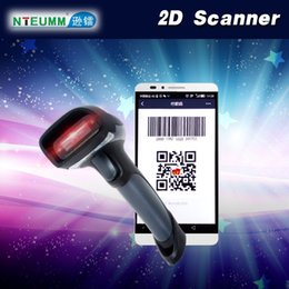 Wholesale Usb Qr Code Scanner - Wholesale- Free Shipping!NTEUMM M5 2D Wired Handheld USB Scanner QR Code Barcode Reader For Mobile Payment Computer Screen Scanner