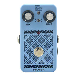 Wholesale Effect Delay - Hand Made LANDTONE Reverb Guitar Effects Pedal True Bypass FREE SHIPPING