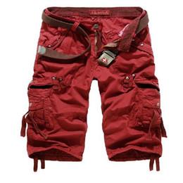 632ace136359 Wholesale-2016 Cargo Shorts Men Hot Sale Men Short Pants Casual Fashion  Summer Style Gym Brand Clothing Shorts Men Cotton Loose BKZ003