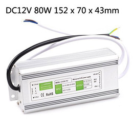 Wholesale 36w 12v Led Power Supply - 10PCS LOT DC 12v 10w 15W 20W 30W 36W 50W 60W 80W 100W 150w 200w Led Outdoor Waterproof Transformer Led Driver Switch Power Supply Ip67