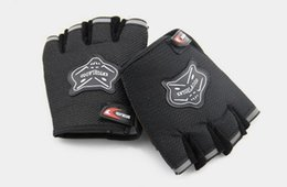 Wholesale Body Building Bar - Wholesale-C7 Weight Lifting Gloves Workout Body Building Gym Gloves Half Finger Fitness Anti Slip Bar Strength Training Exercise Mitts