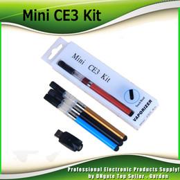 Wholesale Pink Battery Cigarette - Mini CE3 Blister Kits BUD Touch Kits O PEN Oil Atomizer Ce3 Vaporizer 280mAh Bud Touch Battery Ce3 E Cigarette Starter Kit 0209648