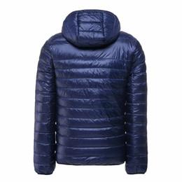 Wholesale duck down feather jacket - 2017 New Casul White Duck Down Jacket Men Autumn Winter Warm Coat Men's Ultralight Duck Down Jacket Male Windproof Parka