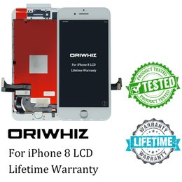 Wholesale Dhl Order - ORIWHIZ New Arriva LCD For iPhone 8 Touch Screen 100% Test No Dead Pixels AAA Quality Digitizer Assembly Support Mix Order Free DHL