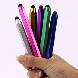 Wholesale Laptop Touch Screen Wholesale - New 10pcs lot Luxury Fashion Stylus Touch Screen Pen Stylus Tablet Laptops Universal Phones Stylus Styluses Pens Office Pen