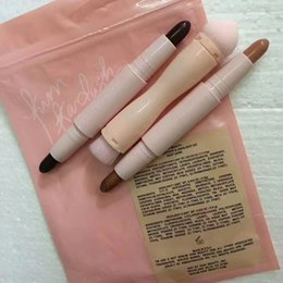 Wholesale Cheapest Concealer - Cheapest Kylie KKW BEAUTY Highlighters sticks contours Stick contours brush Cream Contour Kim Kardashian 2 in 1 Makeup Set DHL Free