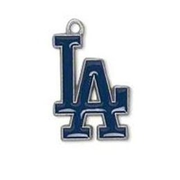 Wholesale Los Dodgers - Los Angeles Dodgers sports series earring making charms