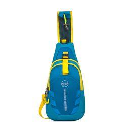 Wholesale Waterproof Cross Body Outdoor Bag - New Handbag High Quality Men Women Waterproof Sport Sling Bag Casual Running Outdoor Cross Body Bags Nylon Chest Pouch Bag Shoulder Bags