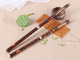 Wholesale Woodwind Musical Instruments - High Quality Bamboo Flute Professional Woodwind dizi Musical instruments C D E F G Key Chinese dizi Transversal Flauta Xiao