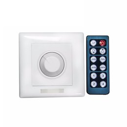 Wholesale Manual Controller - Dimmer 24V 8A Wireless IR LED Dimmer Remote Controller for strip Light 5050 3528 LED lighting Dimmers