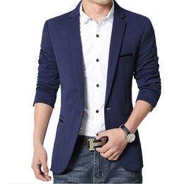 Wholesale Men Beautiful Dresses - Wholesale-2016 Summer Style Luxury Business Casual Suit Men Blazers Set Professional Formal Wedding Dress Beautiful Design Plus Size M-5XL