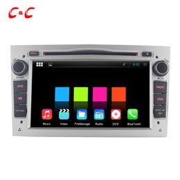 Wholesale Dvd Vectra - Quad Core Android 5.1.1 Car DVD Player for Astra Vectra with Radio GPS Navi Wifi DVR Mirror Link BT1024X600 +Free Gifts
