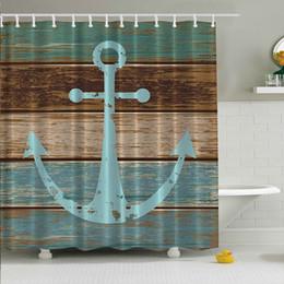 Wholesale Wholesale Bathroom Tubs - Halloween Graveyard Haunted House Fabric Bathroom Shower Curtain Waterproof Tub Curtain Home Decor With 12 Hooks 180x180cm