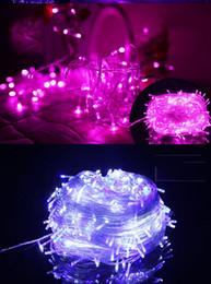 2019 gran bola de luces de navidad 2016 cuerdas LED de Navidad originales de colores 100 luces led 10 metros fiesta de boda Navidad LED cuerdas EE.