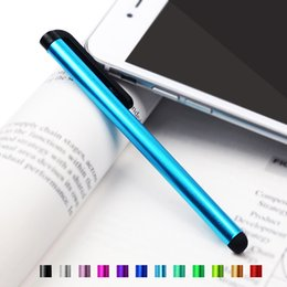 Wholesale Touch Pad Mobile Phones - Stylus Pen Capacitive Touch Screen Touchscreen for Universal Mobile Phone Tablet iPod Pad Cellphone iPhone 7 Plus