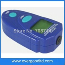 Wholesale Enamel Paint Plastic - Wholesale-Range 0.1~2.0mm Car Painting Thickness Tester Enamel Plastic Epoxy LXT-2271 Digital Mini Coating Thickness Gauge