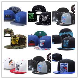 Wholesale New York Hip Hop Caps - Newest Fashion 2017 Snapback Hats New York Rangers Baseball Caps Hip Hop Rangers Ice Hockey Sport Team Caps Adjustable Free Shipping