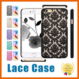 Wholesale Yellow Damask - Mandala Phone Cases Lace Damask Rubberized Matte Cover For iPhone 7 6s 7 Plus Samsung Galaxy Note7 S7 Edge A3 A5 A7