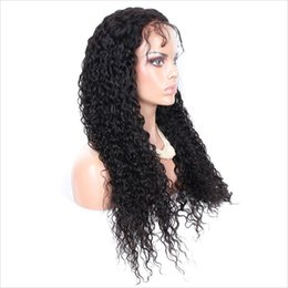 Wholesale Indian Beyonce - Glueless Full Lace Human Hair Wigs For Black Women Brazilian Top Hair Wigs Curly Beyonce Lace Front Wigs With Baby Hair