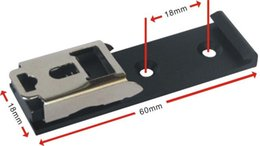 Wholesale 35mm Din Rail - Wholesale- DIN 35mm Rail Fixed Bracket Mounting to the 35 DIN Rail Directly