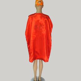 Wholesale Fairy Big - Big kids Adult Costumes & Cosplay superhero cape customize logo-super hero 110*70cm Double layer Adult cape 15 styles