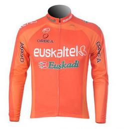 Wholesale Euskaltel Team - SPRING SUMMER 2012 2013 Euskaltel Euskadi Team ONLY LONG SLEEVE CYCLING JERSEY SIZE:XS-4XL