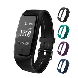 Wholesale Heart S1 - S1 Smart bracelet IP67 Waterproof Heart Rate Monitor Bluetooth Smart bracelet Fitness Tracker For Android ios