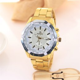 Wholesale Cheap White Gold Watches - Luminous Pointer Men's Watches Complete Calendar Wristwatches Water Resistant Watches Stainless Steel Alloy Cheap Wathes Accurate Time