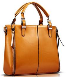 Elegante bolso de las mujeres de la manera de alta calidad de cuero de la PU del bolso de las mujeres marrones bolsa de mensajero de la vendimia oficina señora maletín desde fabricantes