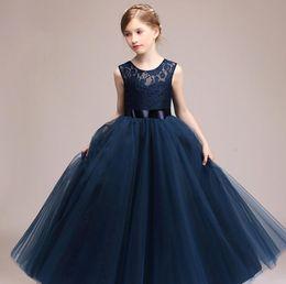 7285091a85f Discount girl 14 years wedding dresses - Kids Girls Wedding Flower Girl  Dress Princess Party Pageant