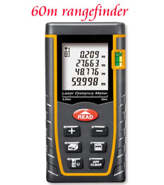 Wholesale Laser Electronic Ruler - Wholesale-2016 new hot Home decoration practical rangefinder laser range finder 60 80 100 meters infrared Electronic ruler Distance tools