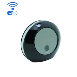 Wholesale Used Network - HD 1080P Video Camera Clock Wi-Fi Hidden Spy Alarm Camera with IP P2P Network Camera for IOS Android APP Remote Control