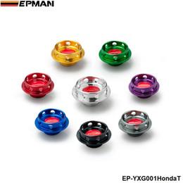 Epman fuel on-line-EPMAN Alumínio De Óleo De Potência De Combustível Preenchimento Do Tanque Do Motor Tampa Do Tanque de Proteção Para Honda Acura Integra EP-YXG001HondaT
