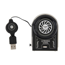 Wholesale fan laptop stand cooling cooler - 1PCS Mini Vacuum USB Cooler Cooling Fan Cooling Pads Stand Cooler For Notebook Laptop Accessories Computer Peripheral