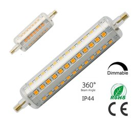 Wholesale led corn dimmable - dimmable led R7S light 78mm 5w 118mm 10W LED R7S lamp 360 degree beam angle J78 J118 R7S lamp perfect replace halogen lamp