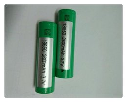 Wholesale Electonic Cigarettes - Hot VTC5 18650   3.7V 30A 2600mAh High Drain Rechargeable Battery For Electonic Cigarette