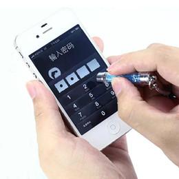 Wholesale Good Capacitive Stylus - Wholesale Good Quality Dust plug Touch Pen Crystal Stylus Pen ultra-soft high sensitive For iphone iPad mobile phone 500pcs