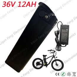 Wholesale 36v lithium battery - Electric Bicycle Battery 36V 12AH 500W Lithium ion Battery 36V With 42V 2A Charger 15A BMS E-Bike Battery 36V Free Shipping