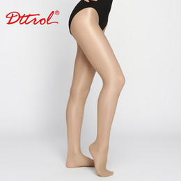 Wholesale High Quality Belly Dance - Wholesale-Brand Latin Dance Shiny Glitter Glossy Shimmer Footed Tights High Quality Shimmery Ballroom Collant