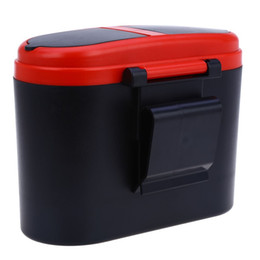 Wholesale Mini Trash Cans - Auto Trash Can Garbage Dust Holder Box Loading And Unloading Easily Mini Home Car Own Large Volume Used In Car Home Office