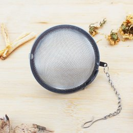 Wholesale Circular Homes - Teas Ball Infuser Circular Stainless Steel Tea Strainer Heat Resistant Resistance To Fall For Home Kitchen Articles 2 7xh C R