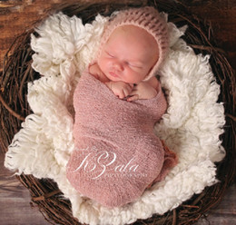 Wholesale Baby Shooting - Prettybaby newborn colorful wraps scarves elastic infant baby shoot photograph supplier 35*150 cm 20 colors baby clothes Pt0555#