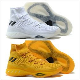 Wholesale Crazy Leather Shoes - Crazy Explosive Boost 2017 Andrew Wiggins Basketball Shoes for top quality Mens sock Sports Training Sneakers Crazy Explosive 2017
