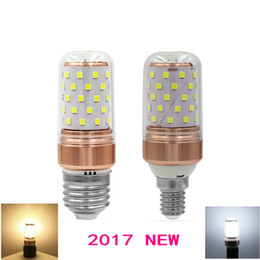 Wholesale Roses Light Bulbs - Real 9W E27 E14 220V linterna LED Light luminaria SMD 2835 LED Bulb lamparas LED bombillas rose gold color