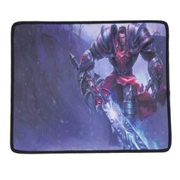 Wholesale Blue Mouse Mat - 2016 Hot New Design 300*250mm Anti-Slip PC Laptop Game Gaming Mouse Pad Mat Mousepad Gifts Pattern1 free shipping
