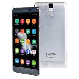 "Wholesale One Sim Card Cell Phones - Original OUKITEL K6000 PRO 5.5"" OGS FHD Android 6.0 MTK6753 Octa Core 4G LTE smartphone 13MP 3gb ram 32gb rom dual sim 6000mah Cell Phones"